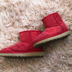 Brand new Red low UGG boots